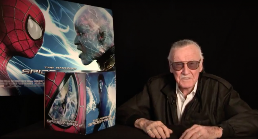 Amazing Spider-Man 2 unboxing video with Stan Lee